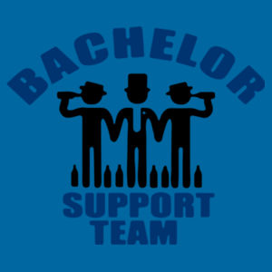 Bachelor Support Team - Softstyle™ adult tank top - Softstyle™ adult ringspun t-shirt Design